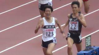 日本陸上競技選手権2015  男子5000m決勝