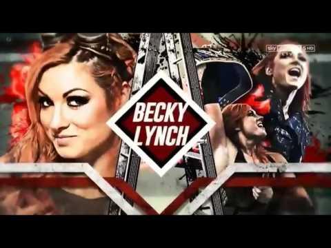 WWE Match Card Official TLC 2016