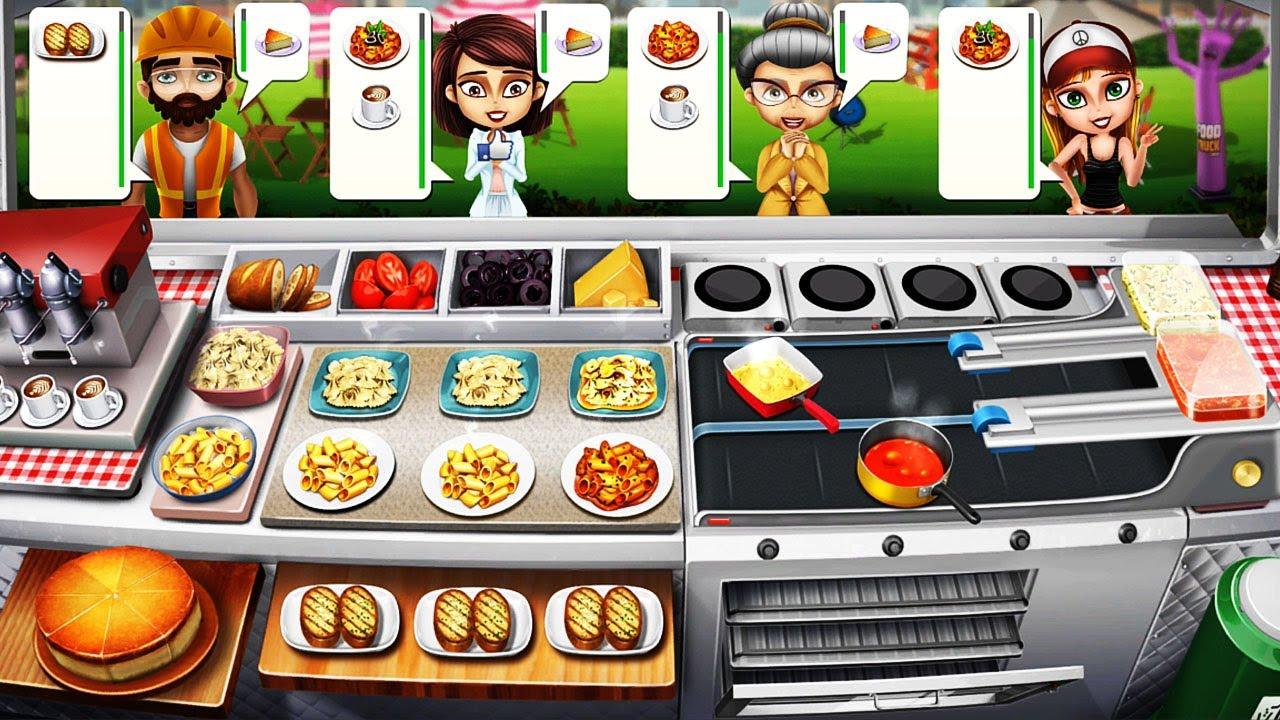 Food Truck Chef Cooking Game #4 – Nấu Và Bán Thức Ăn Trên Xe Tải, Level 22-28