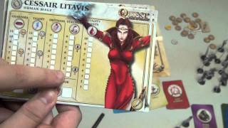 Quest a Time for Heroes Review - with Tom Vasel