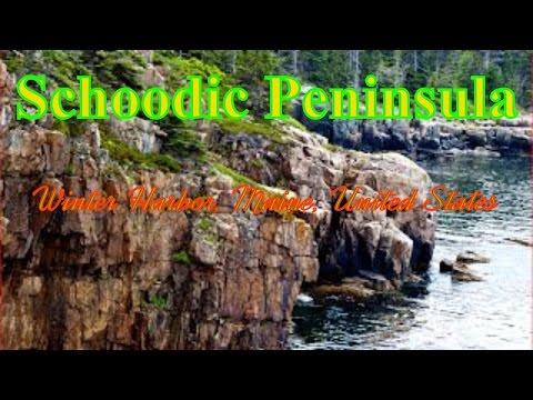 Visiting Schoodic Peninsula, Winter Harbor, Maine, United States
