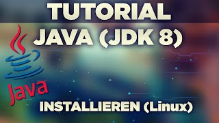 Java 8 JDK installation unter Linux [German]