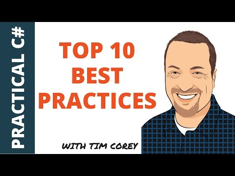 Top 10 C# Best Practices (plus bonuses)