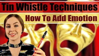 TIN WHISTLE TECHNIQUES - easy tips for adding emotion to your music.
