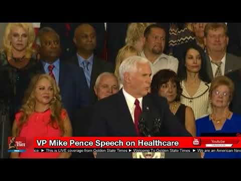 MUST WATCH: Vice President Mike Pence rallies in Indiana on HEALTHCARE as Vote Looms!!