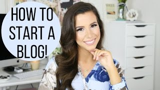 How To Start A Fashion, Beauty, or Lifestyle Blog! | hayleypaige(Thank you so much for watching! Please make sure to LIKE and SHARE this video and subscribe to my channel here for new videos each week: ..., 2016-04-25T15:00:00.000Z)