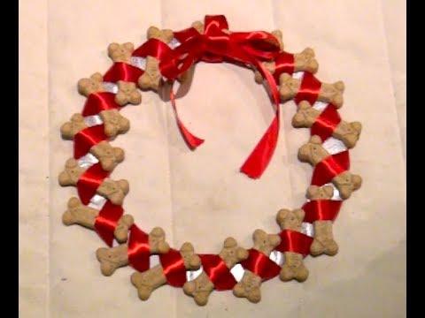 Diy Dog Cookie Wreath Youtube
