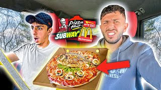 Letting Drive-Thru Employees Decide what we eat for 24 HOURS!!