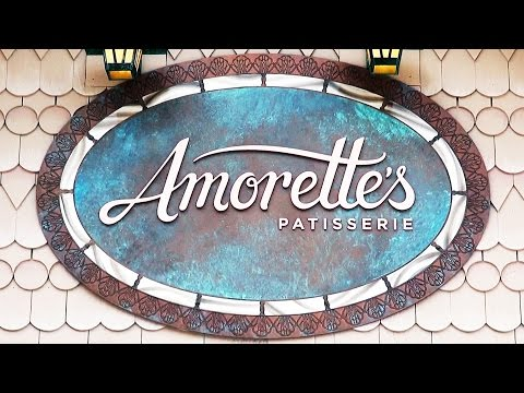 Amorette's Patisserie at Disney Springs Tour Including Exquisitely Designed Desserts, Cakes