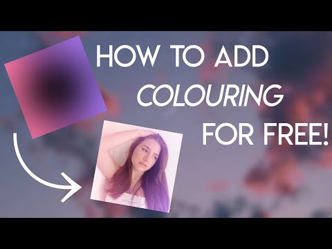 how to add coloring to edits for free