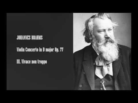 BRAHMS -  Violin Concerto in D Major Op 77 -  III.  Vivace Non Troppo