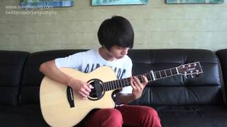 Taylor Swift) Safe and Sound   Sungha Jung Acoustic Tabs Guitar Pro 6