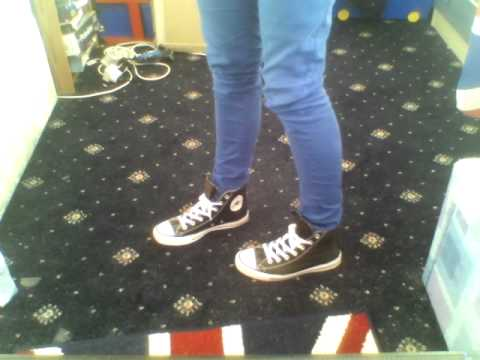How to wear your converse with skinny jeans