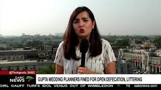 Gupta wedding planners fined for open defecation, littering