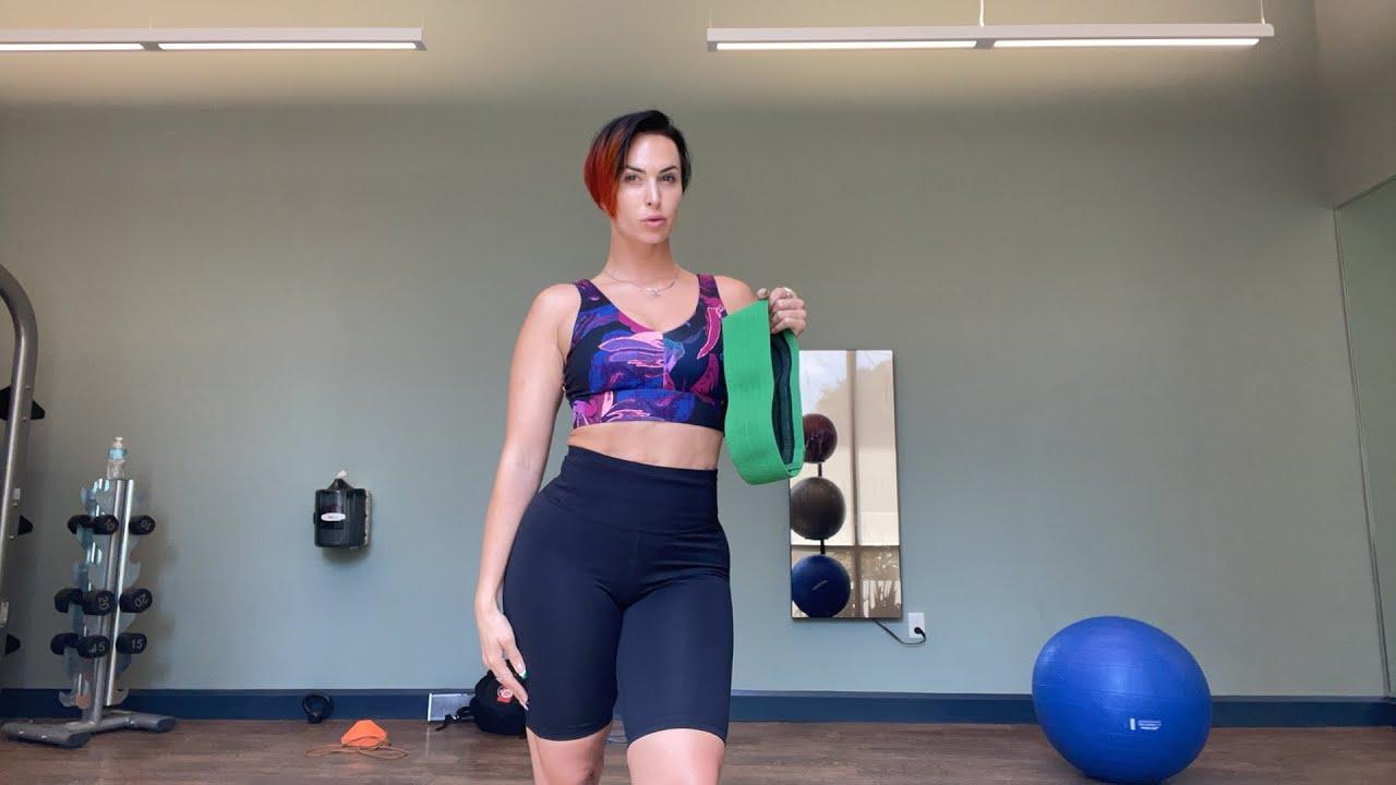 Live Workout with Alvin Davie | Zahra Elise