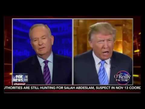 Bill O'Reilly confronts Donald Trump On Controversial Retweet