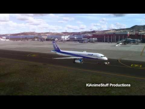 Prepare 3D: Nagasaki RJFU Takeoff and Pushback (HD)