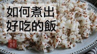 如何煮出好吃的白米飯/藜麥飯??加這兩樣秘密武器,單吃飯就無敵好吃!  How To Cook The Perfect Rice / Quinoa Rice  [Eng Sub]