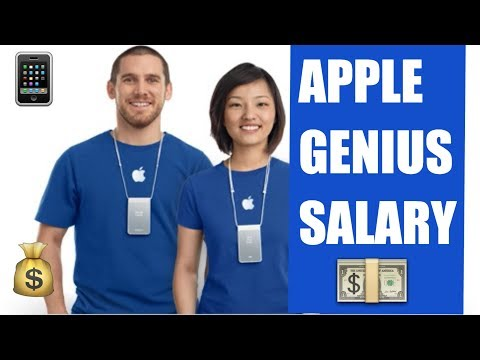 HOW MUCH DOES AN APPLE GENIUS MAKE?