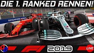 Meine ersten Ranglisten Rennen – F1 2019 Livestream Deutsch | Let's Play Formel 1 Gameplay German