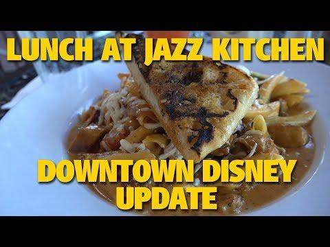 Downtown Disney Update / Lunch at Ralph Brennan's Jazz Kitchen | Disneyland