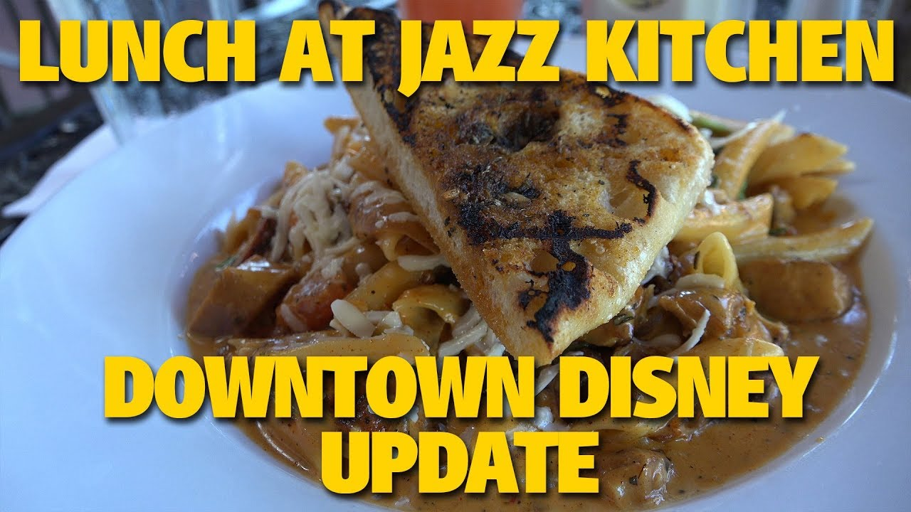 Downtown Disney Update / Lunch At Ralph Brennanu0027s Jazz Kitchen | Disneyland