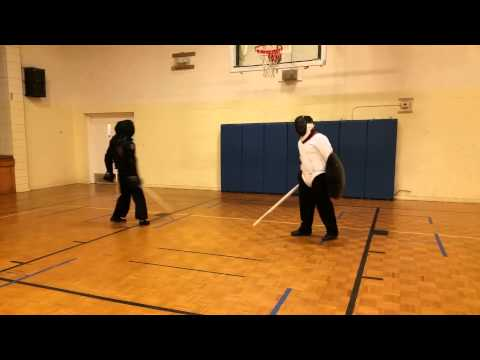 Case Broadswords (Tom) vs Longsword and Shield (Mike)