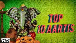 Top 10 Ganesh Aarti – Ganesh Bhajan – Ganesh Mantra - Ganesh Song - Ganesh Chaturthi 2021