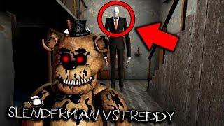 Slenderman vs Freddy Fazbear... (Scary Horror Game)