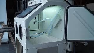 Sableuse c2m-negoce Cabine d'atelier 350 L