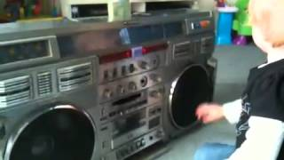 Repeat youtube video Emily and the 80's boom box