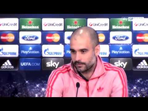 """Pep Guardiola: """"Always I play Champions League to win"""""""