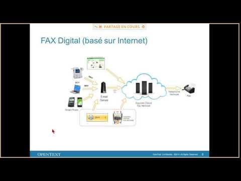 OpenText Webinar Cloud Fax