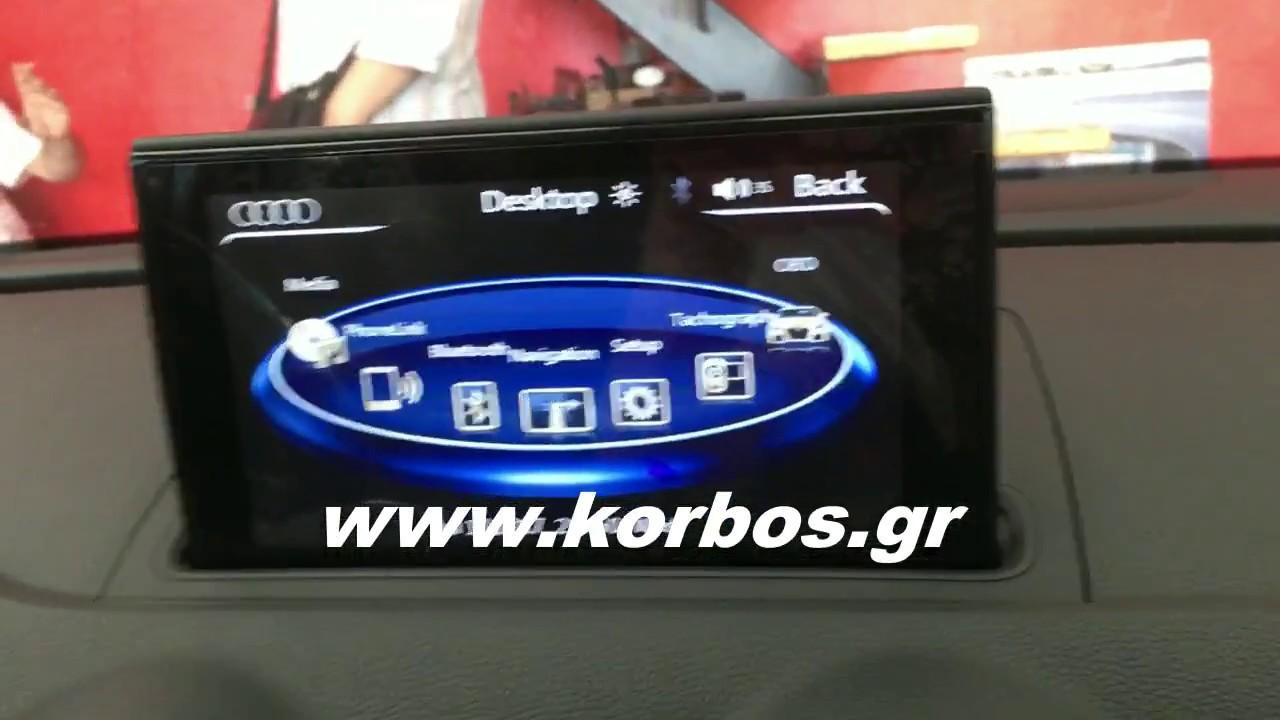 Digital IQ-IW4100 GPS ΟΘΟΝΗ OEM ΓΙΑ AUDI A3 (Mod.2013 και μετά) www.korbos.gr