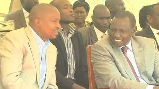 Deputy President William Ruto in a Church service - Igembe North