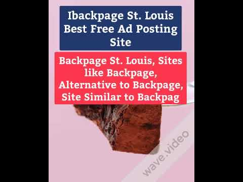 Ibackpage St Louis Best Free Ad Posting Site Backpage Sitesimilar