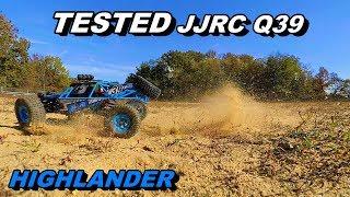 JJRC Q39 HIGHLANDER BUGGY TEST REVIEW