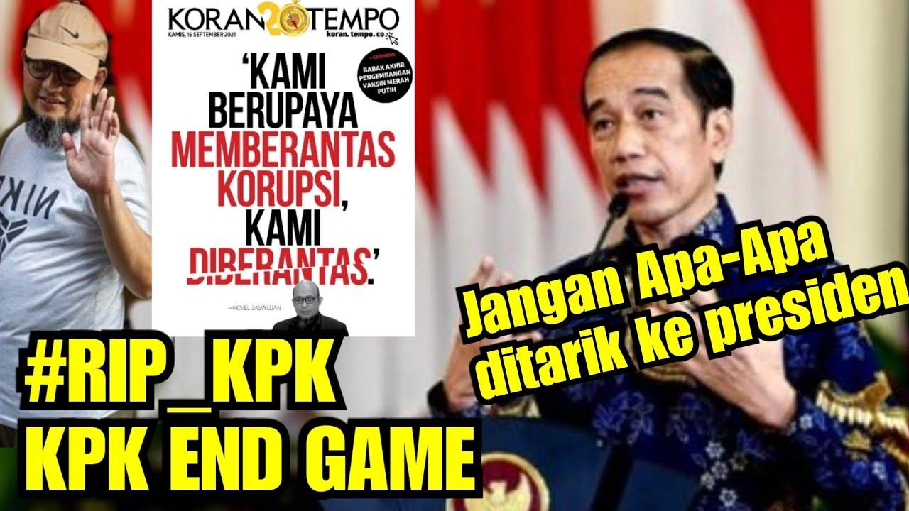 🔴Trending Twitter #RIP_KPK KPK END GAME - Novel Baswedan dipecat