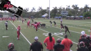 180lb Overtown Tornadoes vs 180lb Tamiami Colts | POP WARNER