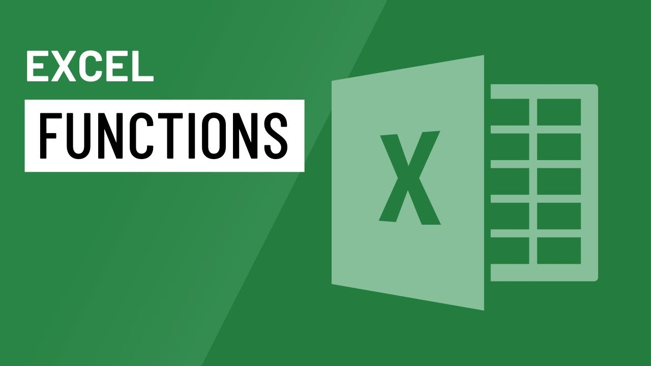 Excel: Functions