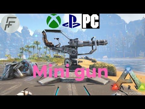 ARK: Survival Evolved How to spawn a Mini gun