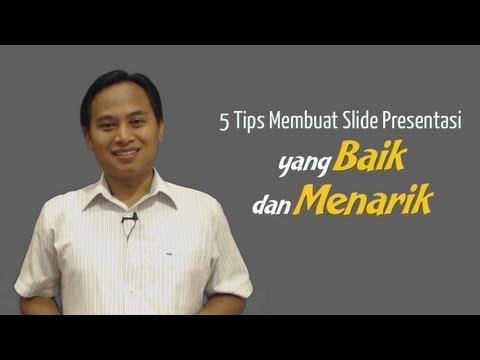 5 Tips Membuat Slide Presentasi Yang Baik Dan Menarik (Video Seri Tips Presentasi) Mp3