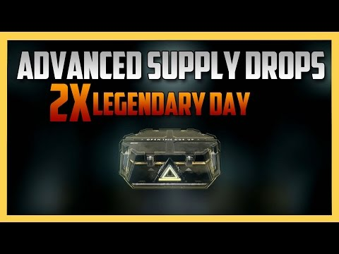 100+ Supply Drop openings on Double Legendary Day - Bonus To