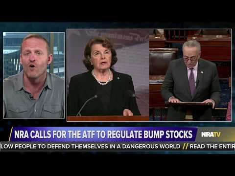 Bump Stocks: Pelosi and Feinstein's Trojan Horse