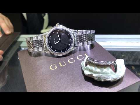 Gucci Watch and Diamond Grillz Video Review