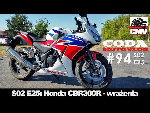 CMV#94: Honda CBR300R - wrażenia - CODA MotoVlog - test, opinia, recenzja, jazda testowa