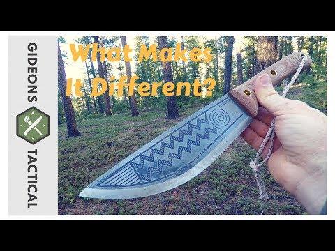 What Makes It Different? Condor Primitive Sequoia Knife