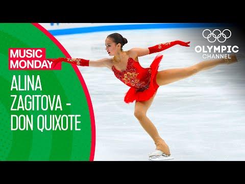 "Alina Zagitova's Free Programme to ""Don Quixote"" at PyeongChang 2018 | Music Monday"