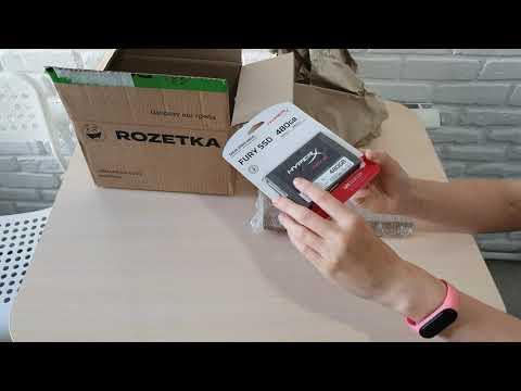 """Kingston SSD HyperX Fury 3D 480GB 2.5"""" SATAIII 3D NAND TLC (KC-S44480-6F)"""
