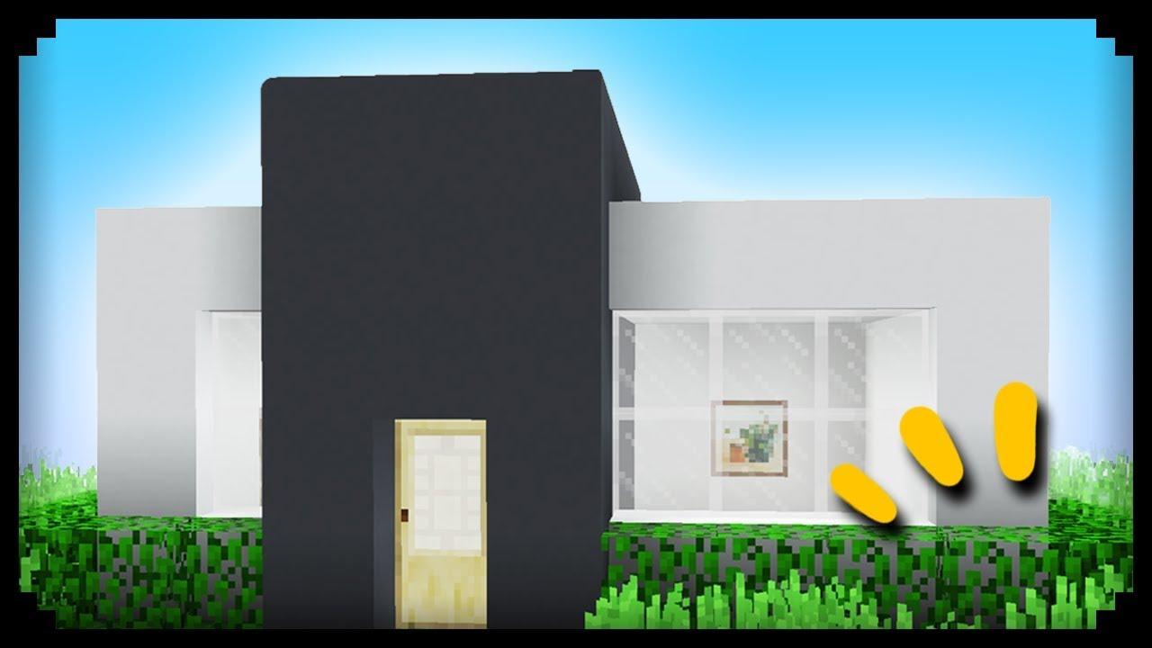 e39a503f04d ✓ Minecraft  How to make a Modern House - YouTube